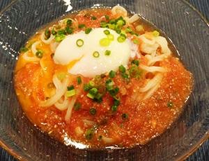 あさイチ:トマドレ温玉うどんのレシピ! 近藤幸子