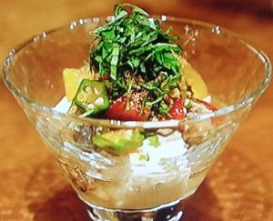 シブ5時:オクラのとろとろ豆腐のレシピ!オクラ水も!井戸理恵子