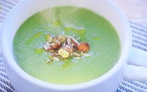 土曜は何(ナニ)する :免疫力アップ&ダイエットスープのレシピ!小松菜の味噌チーズ!あつしの魔法のスープ