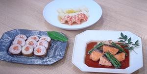 きょうの料理  おせち:笠原将弘さんのサーモンの焼き漬けのレシピ!