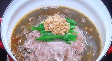 世界一受けたい授業:黒ゴマ坦々鍋のレシピ!免疫力アップ&低カロリー