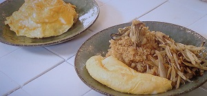 きょうの料理:栗原はるみさんのかきの炊き込みご飯 卵のっけのレシピ!