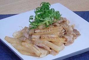 きょうの料理:大根と豚バラの甘辛味噌炒めのレシピ!コウケンテツ