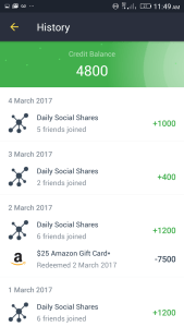 FreeMyApps earnings March 2017