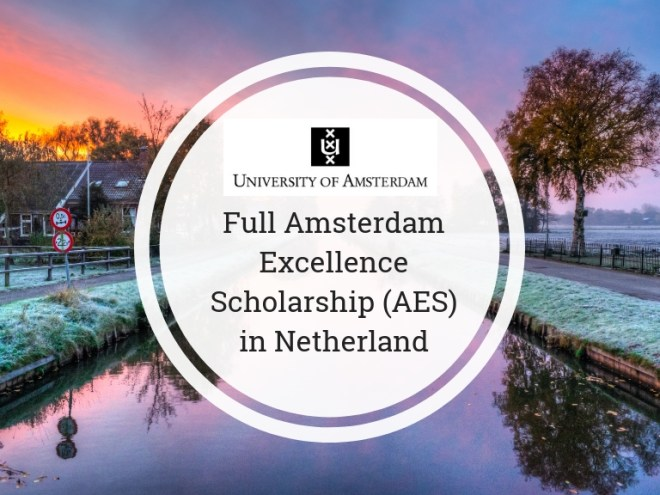 Amsterdam Excellence Scholarships (AES)