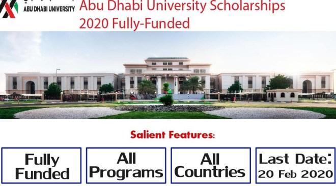 Abu Dhabi University Scholarships