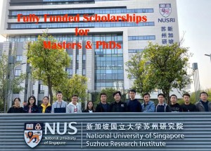National University of Singapore Scholarships 2020