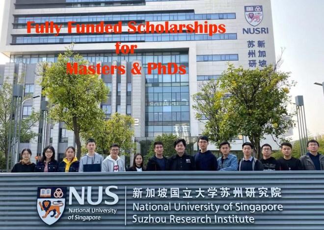 National University of Singapore Scholarships 2020