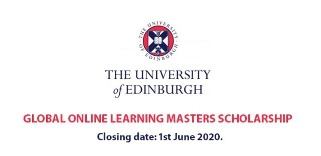 Edinburgh University Online Masters Scholarship