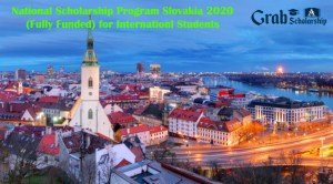 National Scholarship Program Slovakia