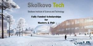 Skoltech Scholarship in Russia