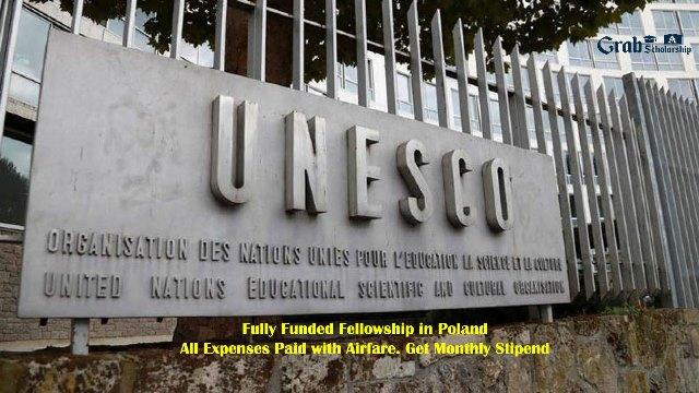 UNESCO Poland Fellowship Program 2020