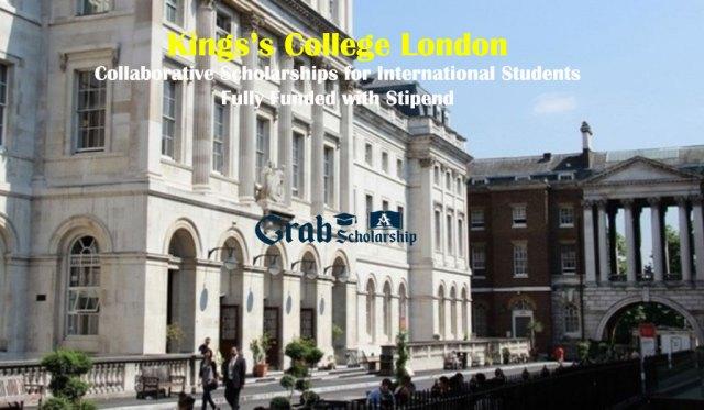King's College London Collaborative Scholarship