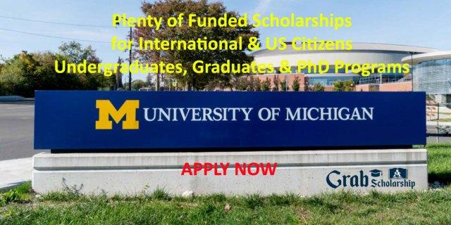 University of Michigan Scholarships