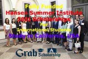 Hansen Summer Institute 2021