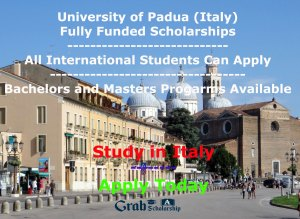 University of Padua Scholarship