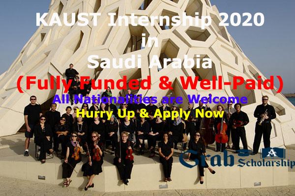 kaust internship 2020