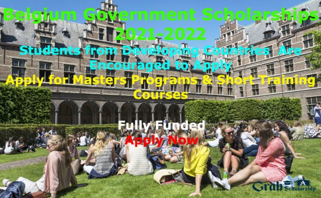 Belgium Government Scholarships