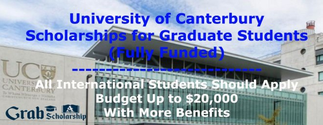 Scholarships for Graduate Students