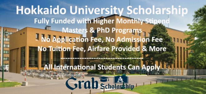 Hokkaido University Scholarship