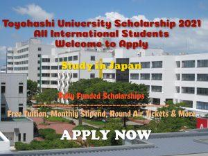 Toyohashi University Scholarship 2021