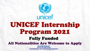 UNICEF Internship Program