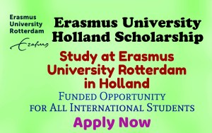 Erasmus University Holland Scholarship
