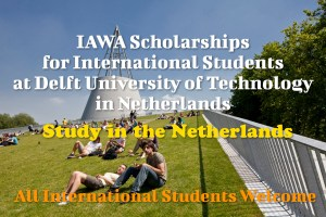 IAWA Scholarships for International Students
