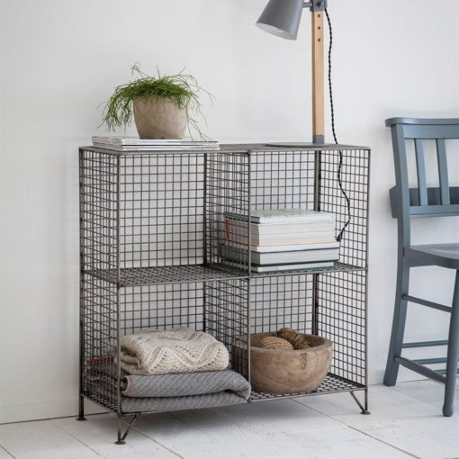 Mesh Shelving Unit   Small