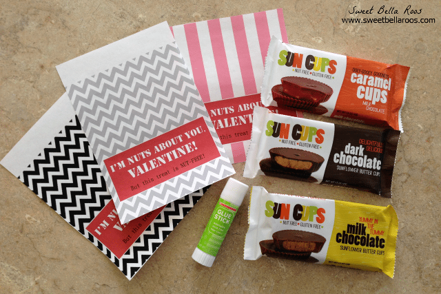 Valentine's Candy Bar Wrapper- NUT FREE!