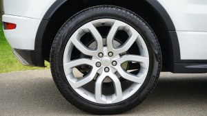 wheel on car