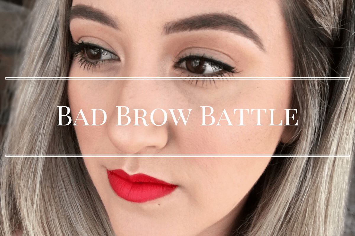Beating The Battle With Your Bad Brow Grace And Lipstick