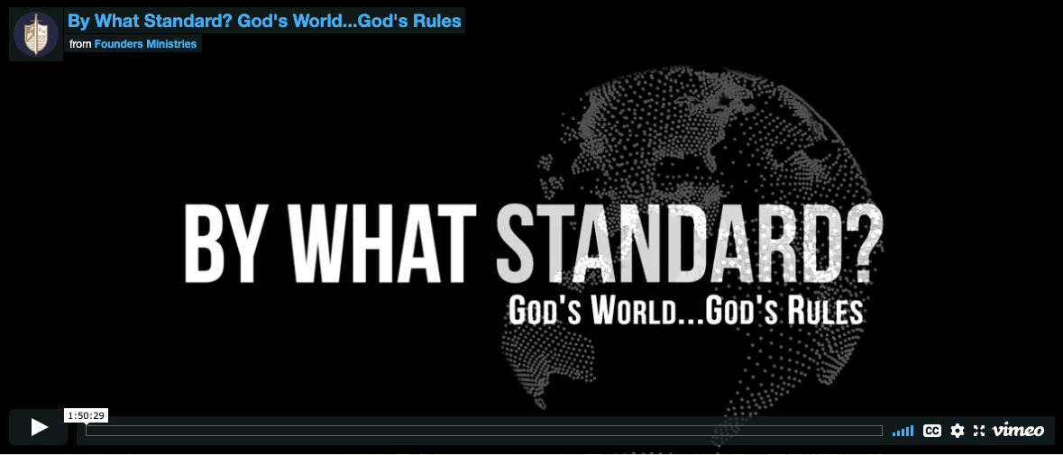 tom ascol, founders ministries, by what standard, graceandpeaceradio, thy kingdom comma