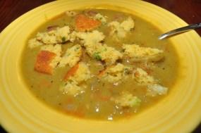 Pea Soup & Cornbread