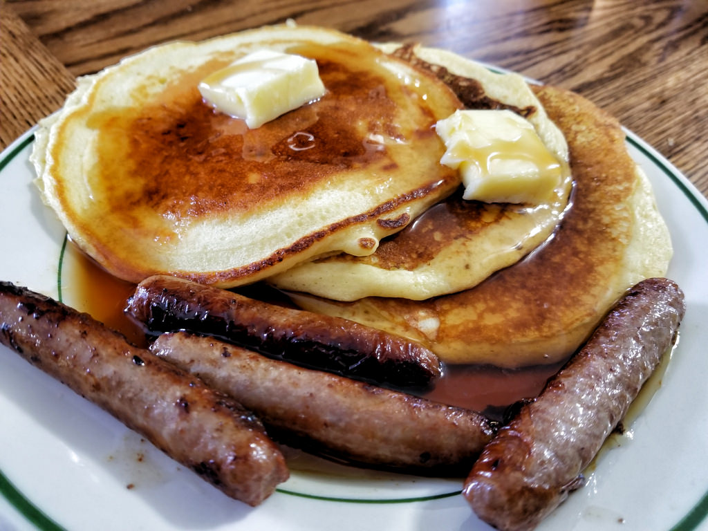 Sausages and Pancakes