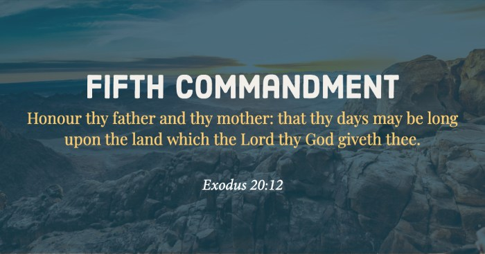 Fifth Commandment