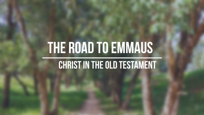 The Road to Emmaus: Jesus in the Old Testament