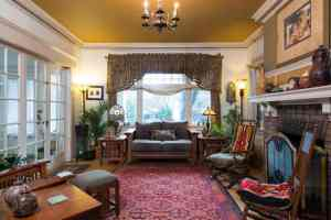 Historic Hafner Haus Living Room