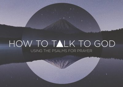 How to Talk to God
