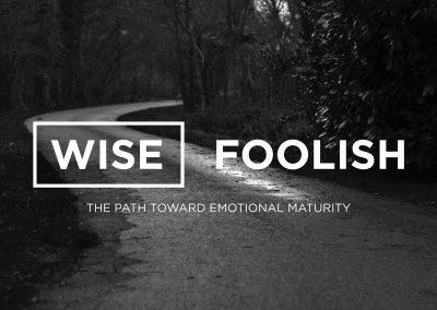 Wise-Foolish: The Path Toward Emotional Maturity