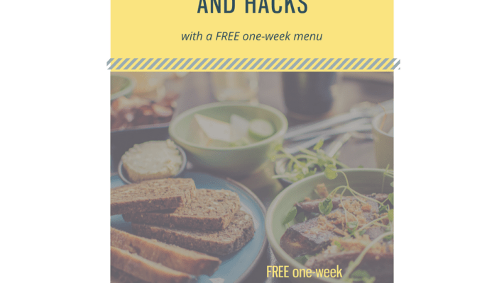 meal planning hacks and tips