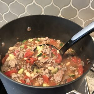 Easy weekend Italian Soup. Amy Connell | GracedHealth.com
