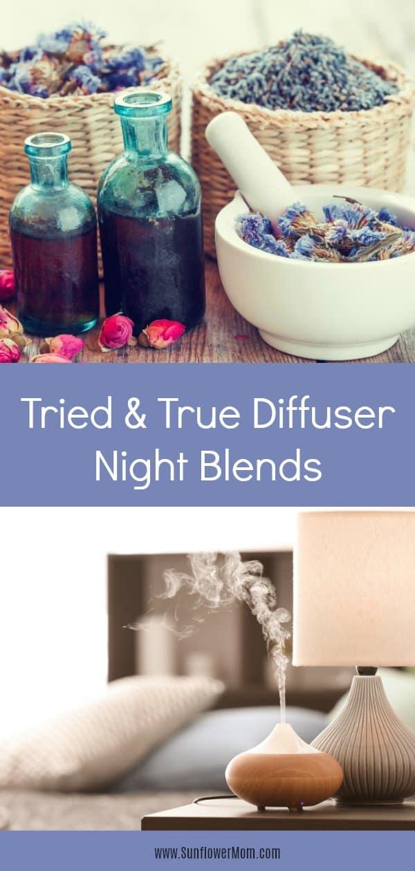 Essential Oil Diffuser Night Blends