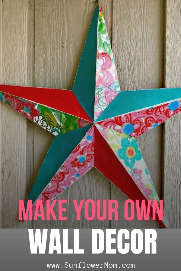 How to Make Amazing Star Wall Decor