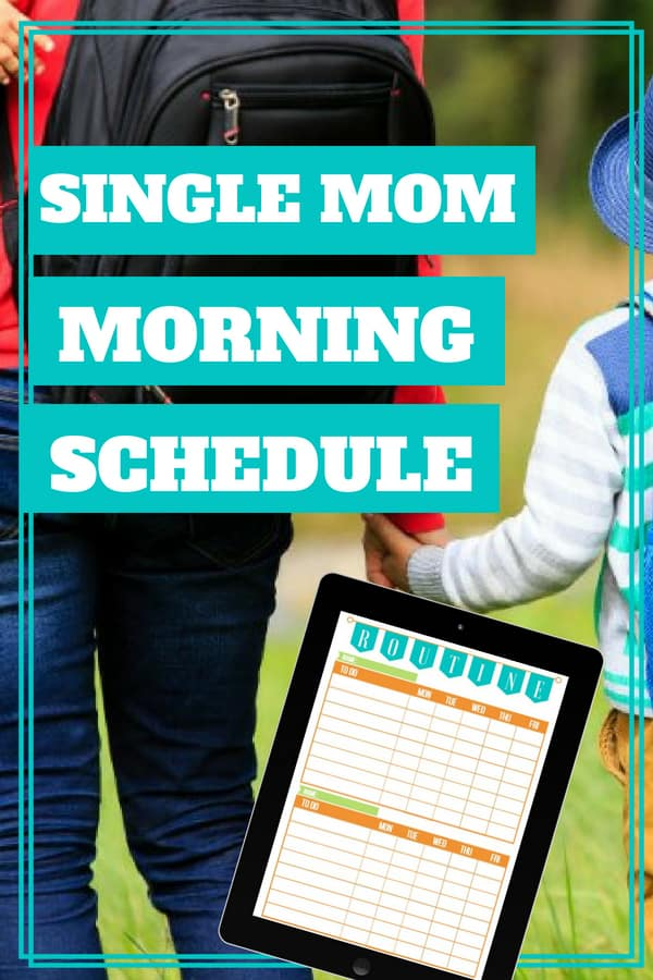 The Best Morning Routine for a Single Mom