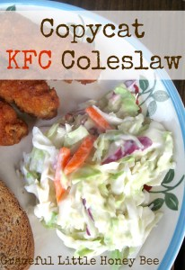 Who doesn't love KFC's coleslaw? This recipe is easy to put together and tastes just like the original!