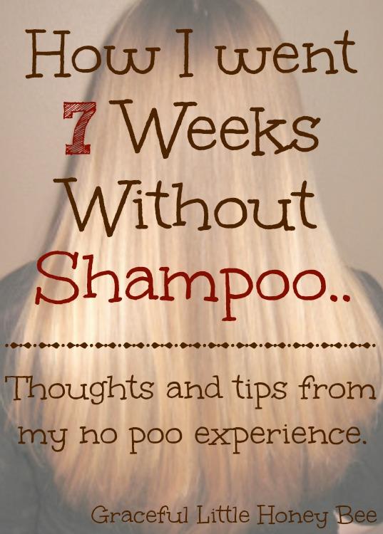 How I went 7 Weeks Without Shampoo