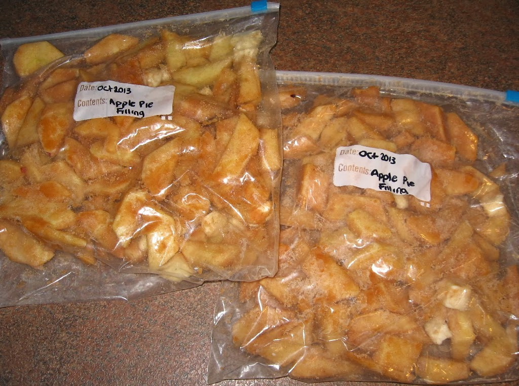Freezer apple pie filling video tutorial graceful little honey bee remove air from bag label and freeze flat forumfinder Image collections