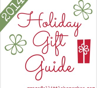 Inspirational Gift Guide for families with young children.