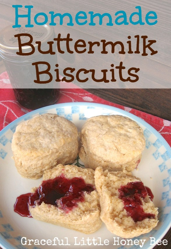 Making biscuits from scratch doesn't have to be intimidating. Try this step by step recipe and you will never buy them from the store again!